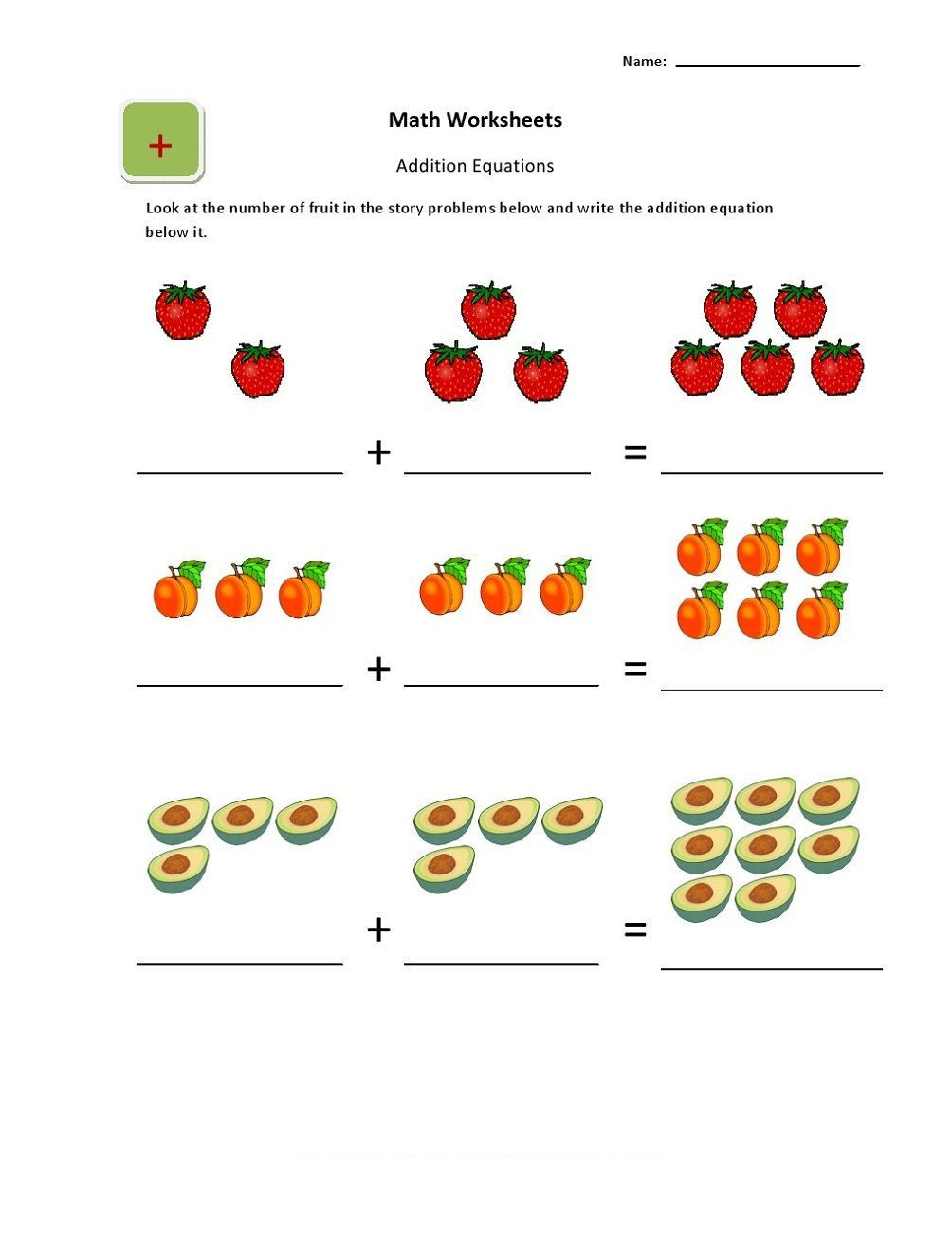 Ukg Maths Addition Worksheets In 2020 Math Addition Worksheets Kindergarten Math Addition Math Worksheets