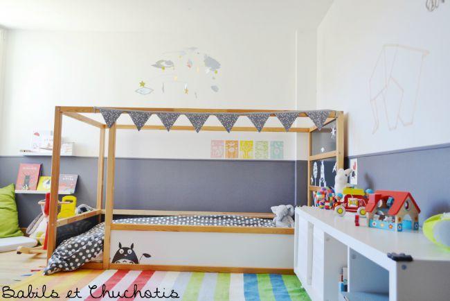 Un dormitorio infantil con muebles de Ikea | Dormitorios infantiles ...