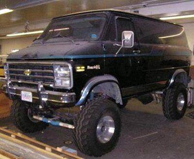 V8 Van Six Wheel And 4x4 4x4 Van Gmc Vans Chevy Trucks