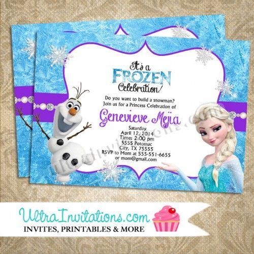 Frozen party invitation ideas home olaf elsa birthday frozen party invitation ideas home olaf elsa birthday invitations 3 filmwisefo Image collections