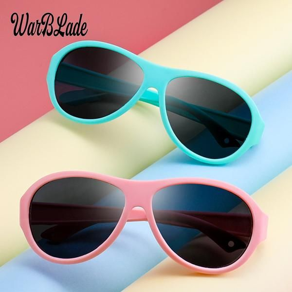 Warblade Square Polarized Sunglasses Kids Silicone Tr90