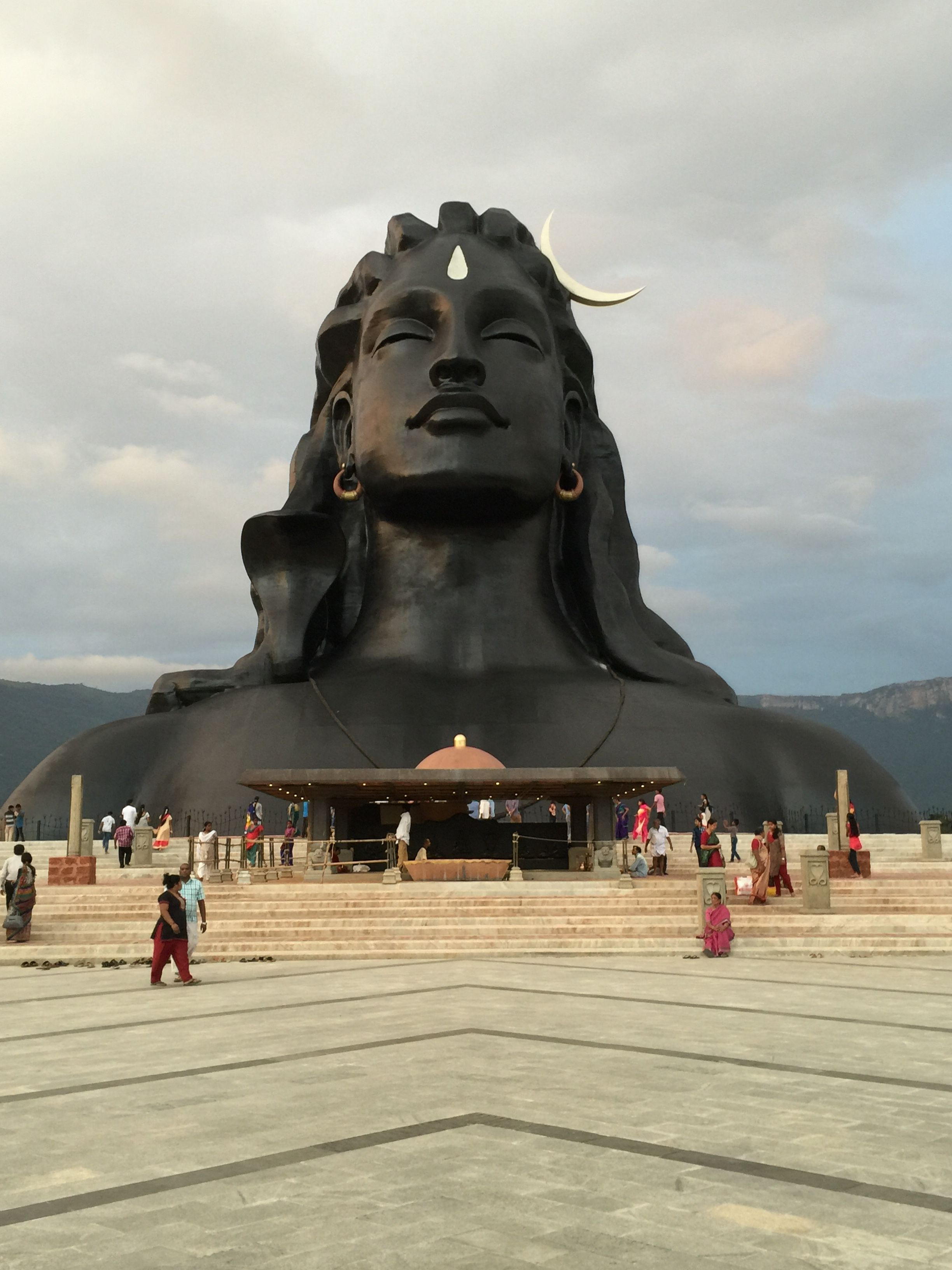Adiyogi Shiva  Isha Yoga center, Tamil Nadu - India | monuments