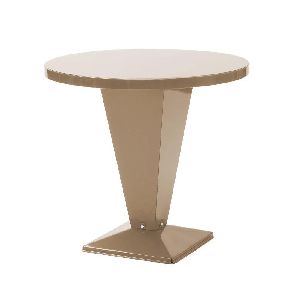 Tolix Bistrotisch Table Kub Glanzend Bistrotisch Tischplatte