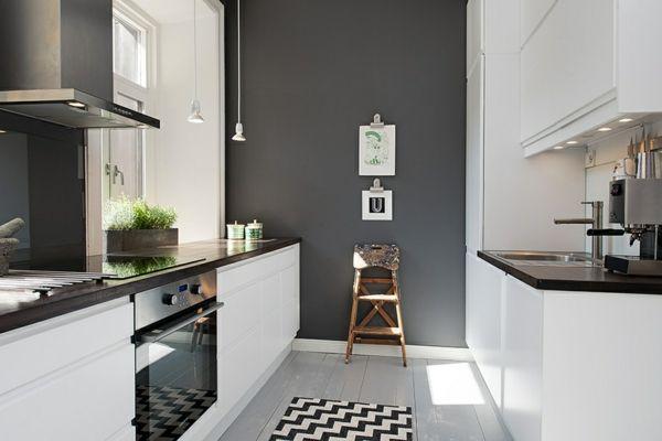 1001+ Ideen für Wandfarbe - Grautöne für die Wände Ihrer Wohnung ...