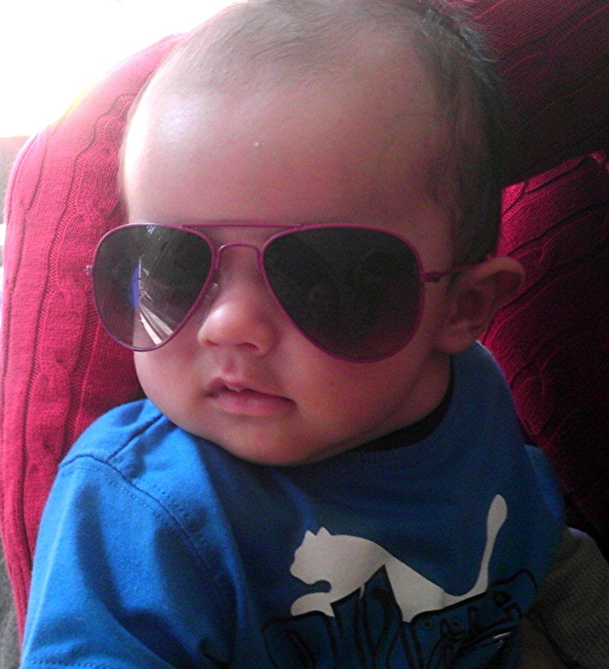 8be606fa96 Baby Aviator Sunglasses