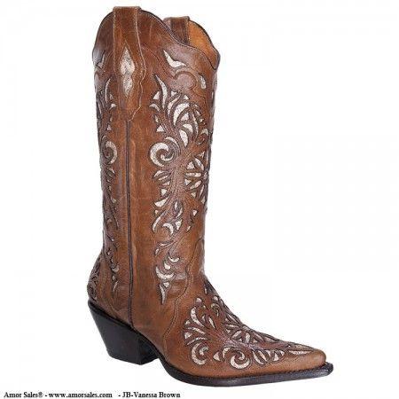d802251462 JB-Vanessa Brown - Botas Vaqueras para Mujer - Mayoreo