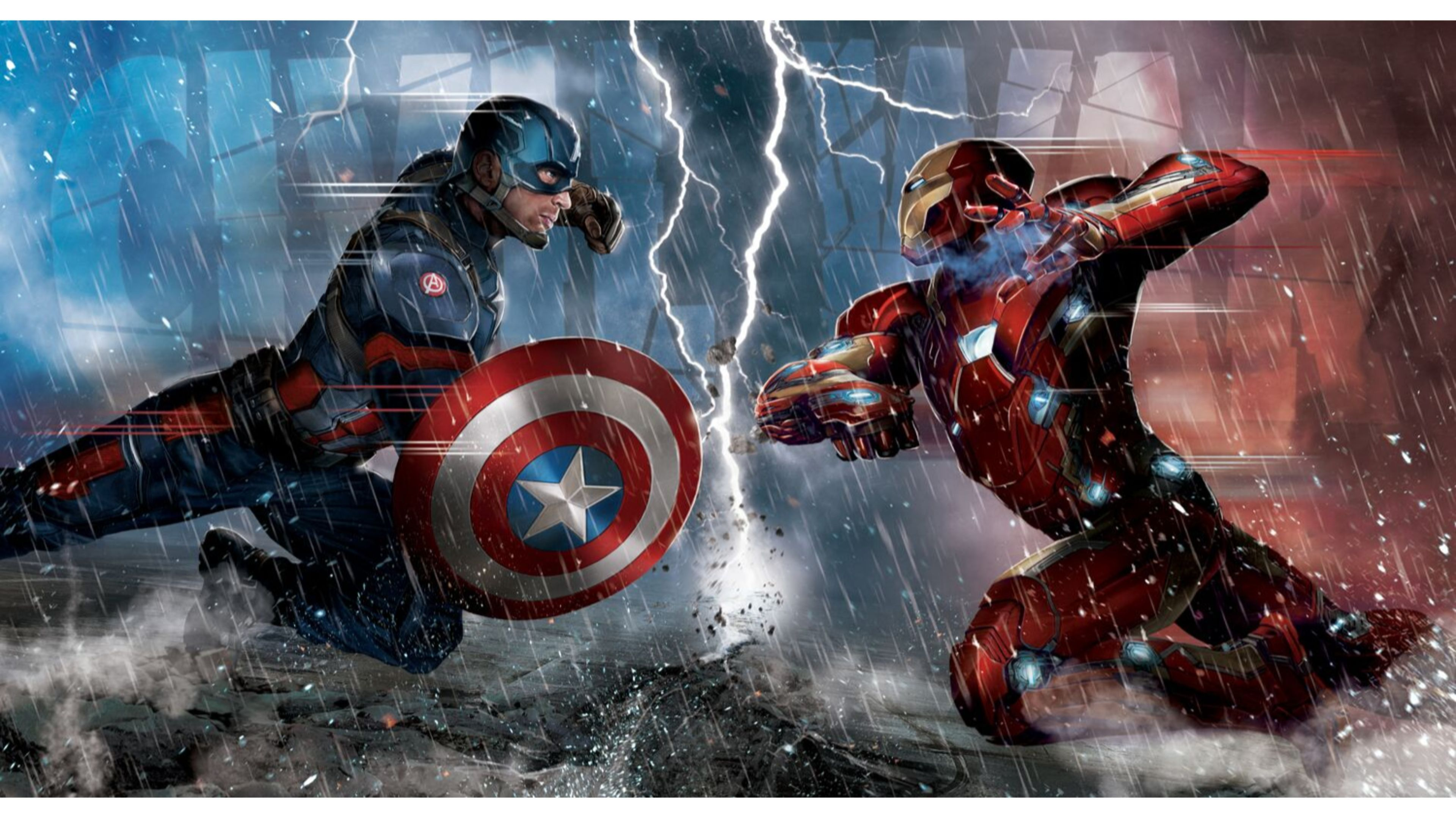 Captain America 2017 Wallpaper Marvel Captain America Civil War Iron Man Vs Captain America Captain America Civil