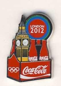 Coca-Cola USA Olympics 1996 Atlanta Pins