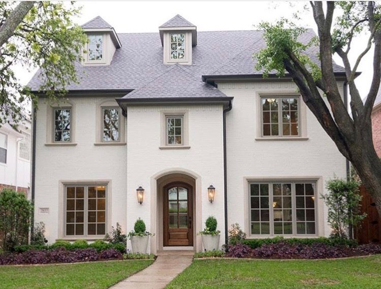 More White Stucco Style Like Doorway And Entry Most