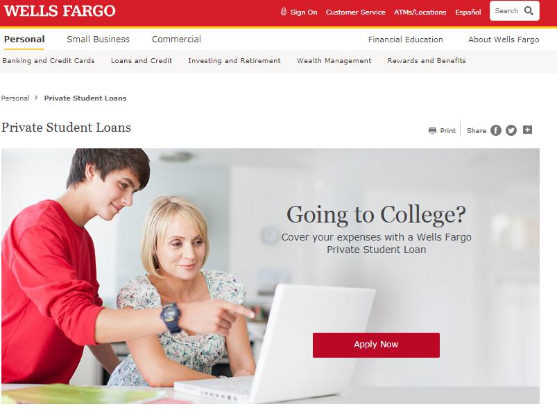 Wells Fargo Student Loan Login Student Loans Wells Fargo Private Student Loan