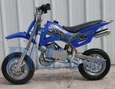 Pink DB49A 49CC 50CC 2-STROKE GAS MOTOR MINI DIRT PIT BIKE DB49A