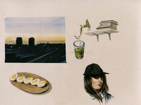 Los delicados dibujos de Evie Cahir | itfashion.com