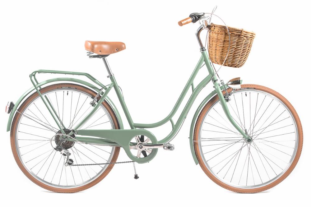 Bicicleta De Paseo Capri Berlin Verde Miel 6v Bicicletas De Paseo Bicicletas Bicicletas De Paseo Mujer