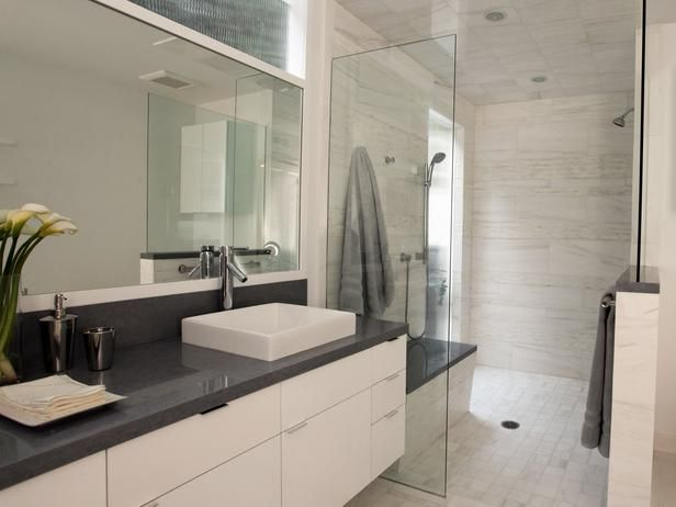 Bathroom Remodeling Zillow xxx contemporary white bathroom : bathroom remodeling : hgtv