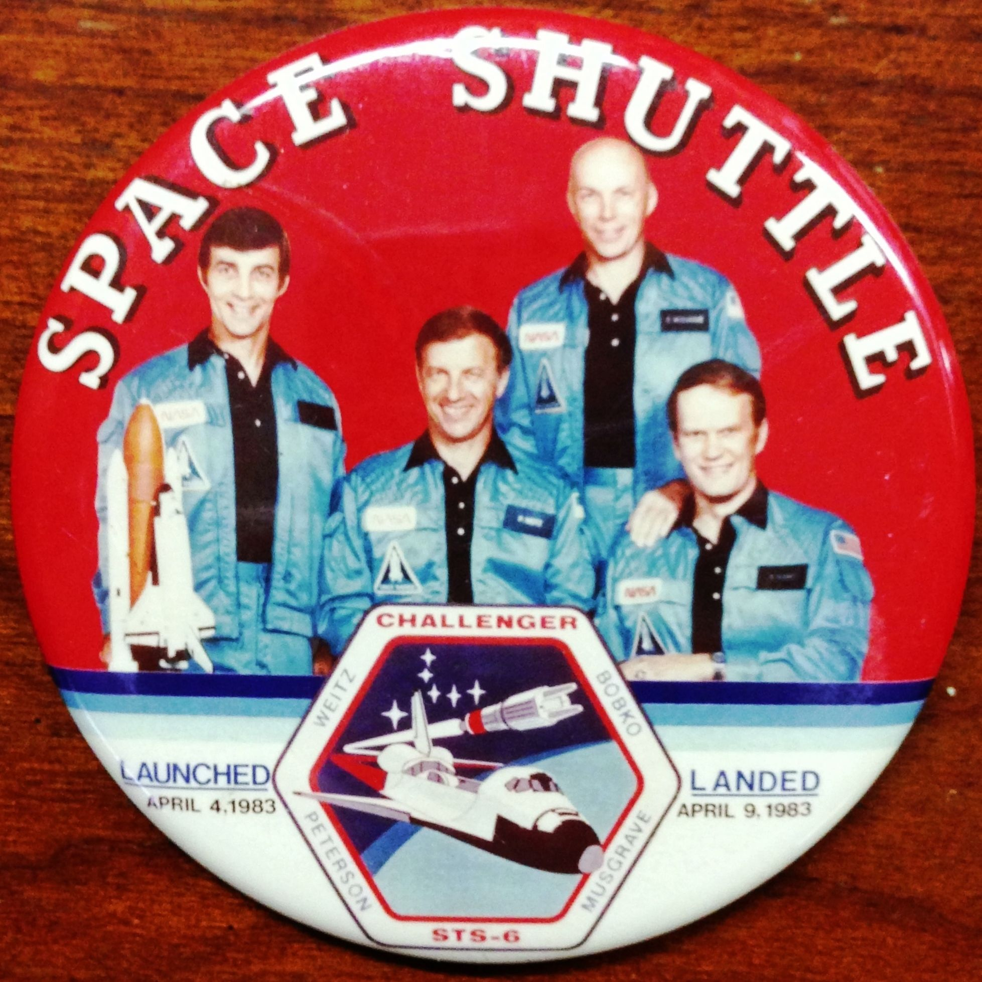 1983 Space Shuttle Challenger Crew - Pics about space