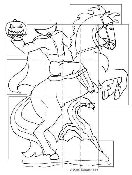 Headless Horseman Pumpkin Stencil Google Search Pumpkin Stencil Halloween Silhouettes Halloween Pumpkins Carvings