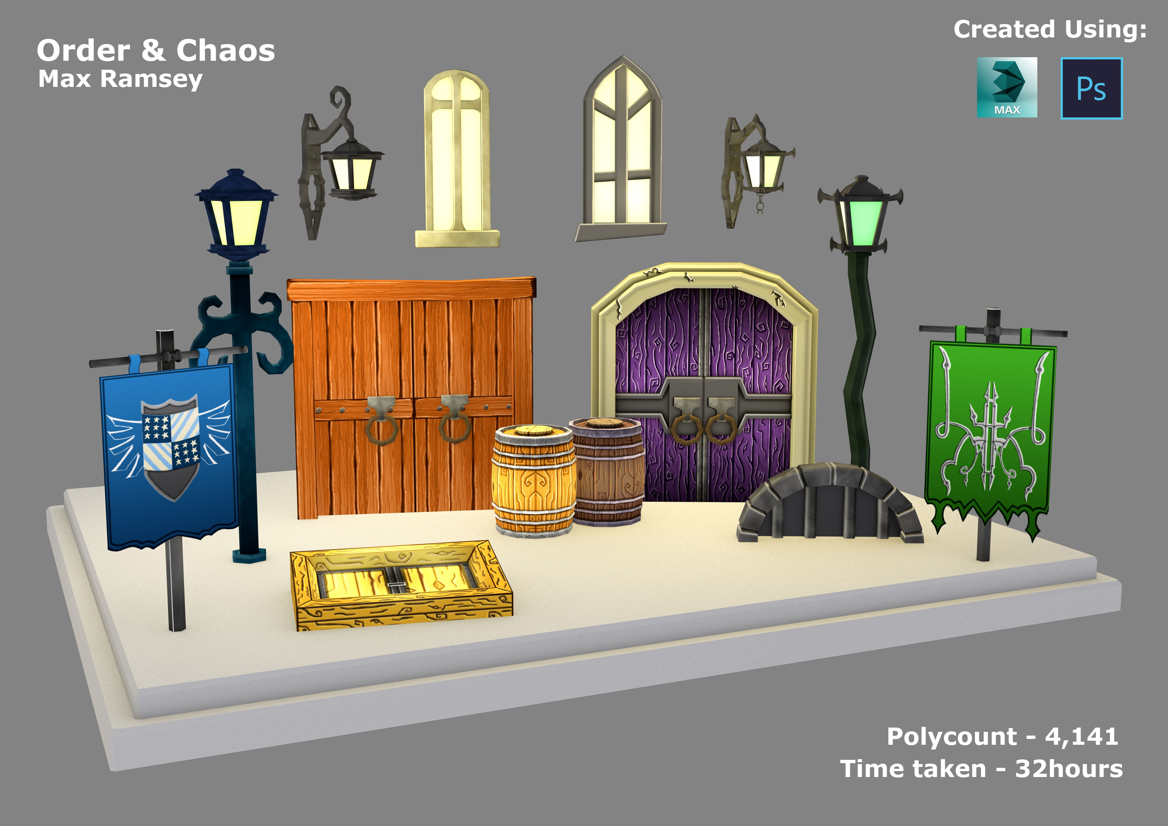 An example 3D Modelling produced by one of our students on