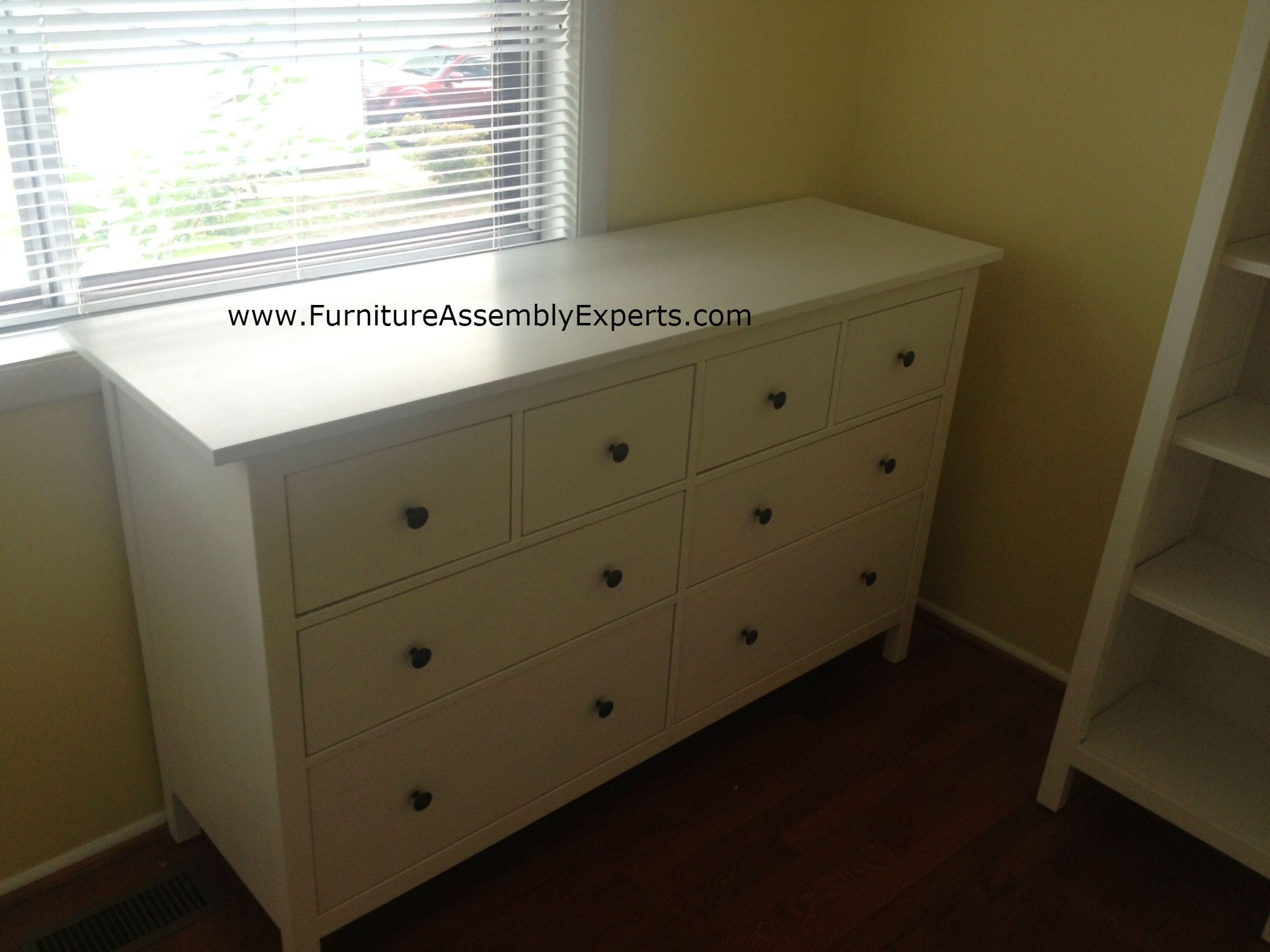 IKEA #Hemnes dressing table assembly
