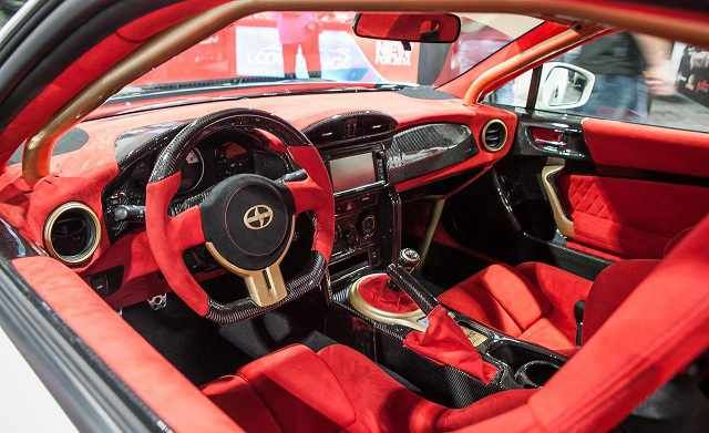 2016 Toyota Scion Fr S Interior