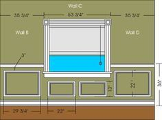 How To Calculate Wall Framing | For The Home | Pinterest | Walls,  Wainscoting And Moldings