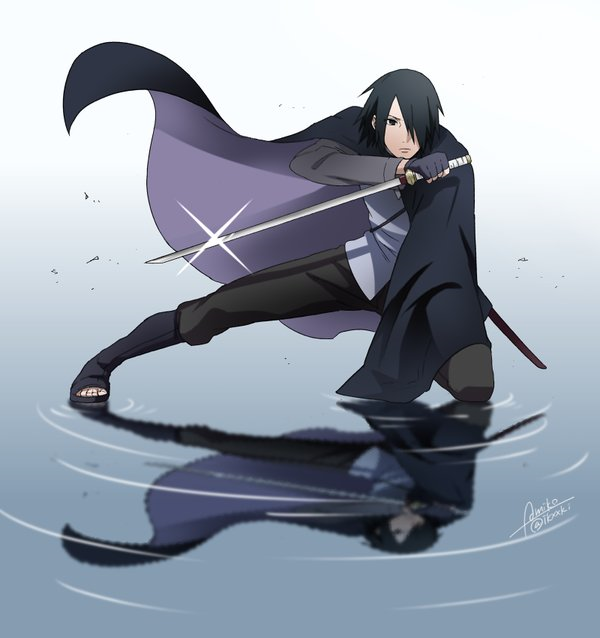 Sasuke uchiha naruto pinterest manga anime and naruto - Comment dessiner sasuke ...