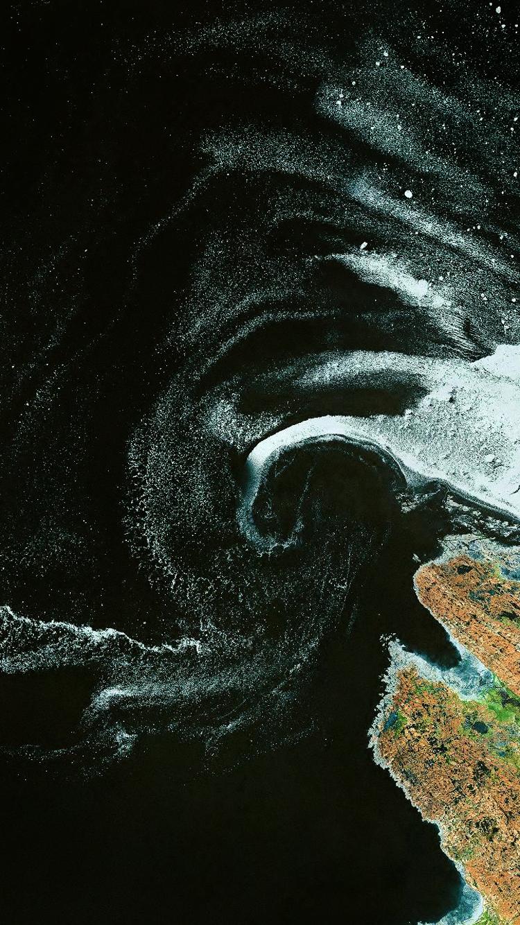 Images of Blu Ocean Map Wallpaper - #SC