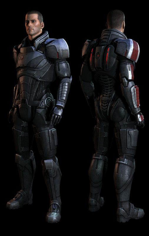 Shepard Armor Close Up Mass Effect Universe Mass Effect