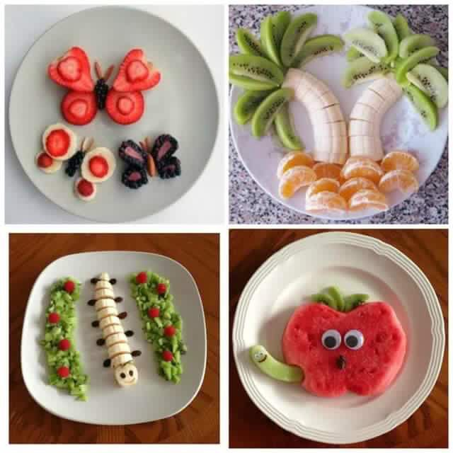 Plato Entretenido Comida Divertida Para Ninos Fruta Para Ninos Comidas Saludables Para Ninos
