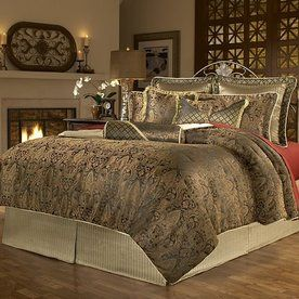 Leggett Platt 14Piece Brown King Comforter Set New Project