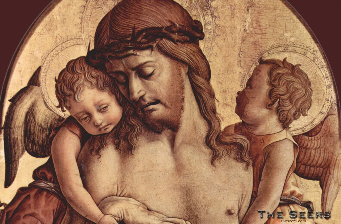 Angels Pity-Carlo Crivelli http://theseers.com