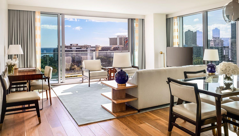 Ritz Carlton Residences Waikiki 2 Bedroom Suite Luxury