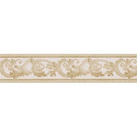 451 1648 Scroll Silhouette Decorative Border Wallpaper Border Gold Wallpaper Border Self Adhesive Wallpaper
