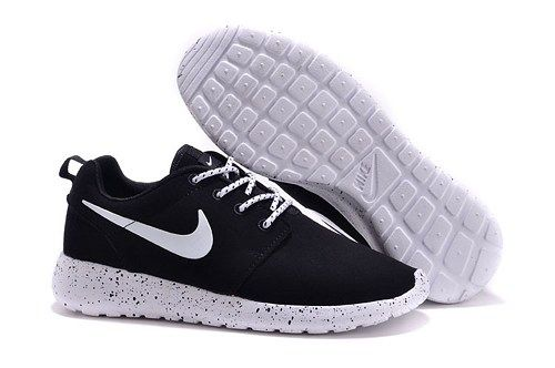 be569a8ff9af Nikes 511881-110 roshe run black white suede mens running shoes ...
