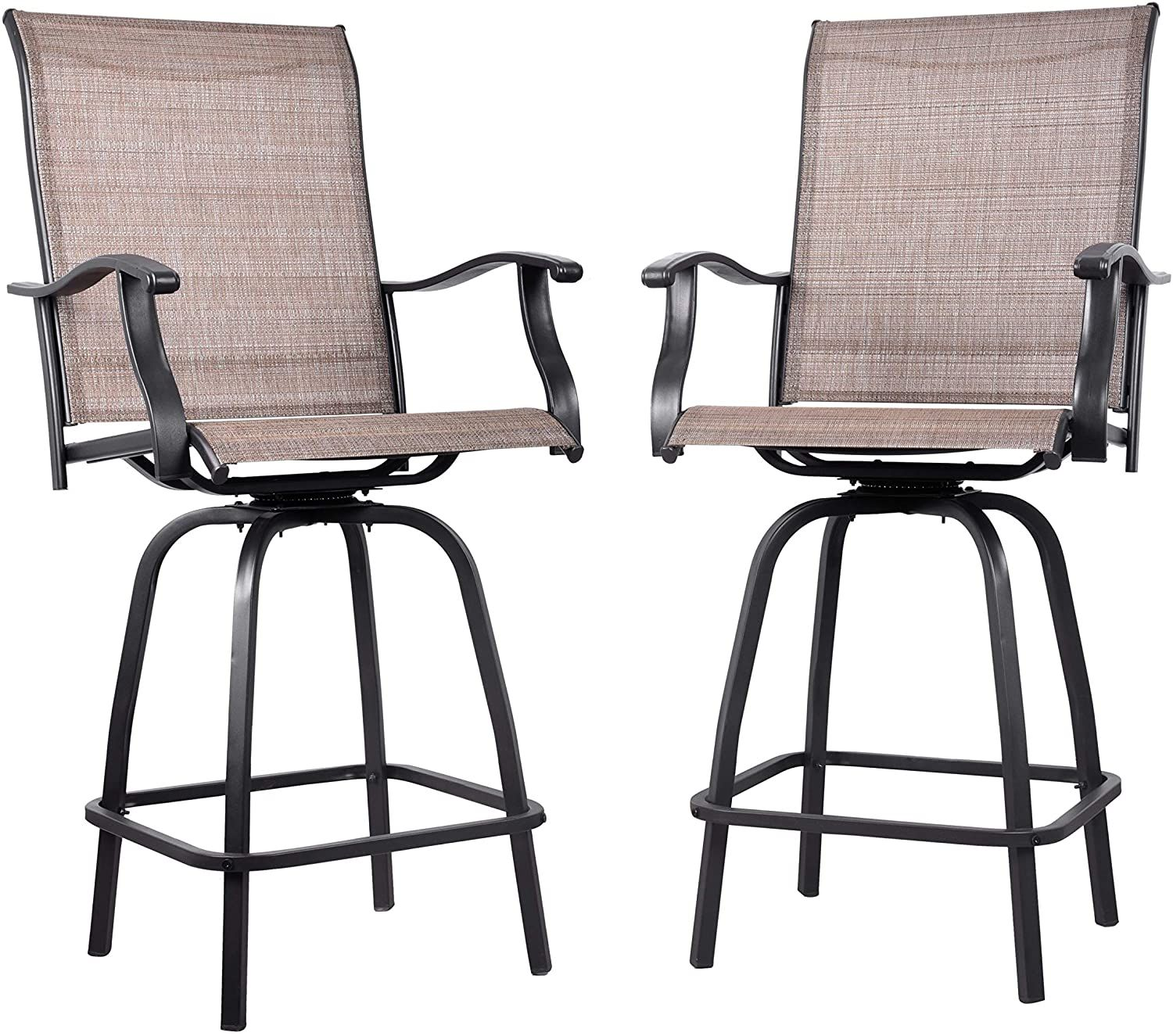 Counter Height Patio Stools In 2020 Bar Stools Swivel Bar Stools Outdoor Bar Stools
