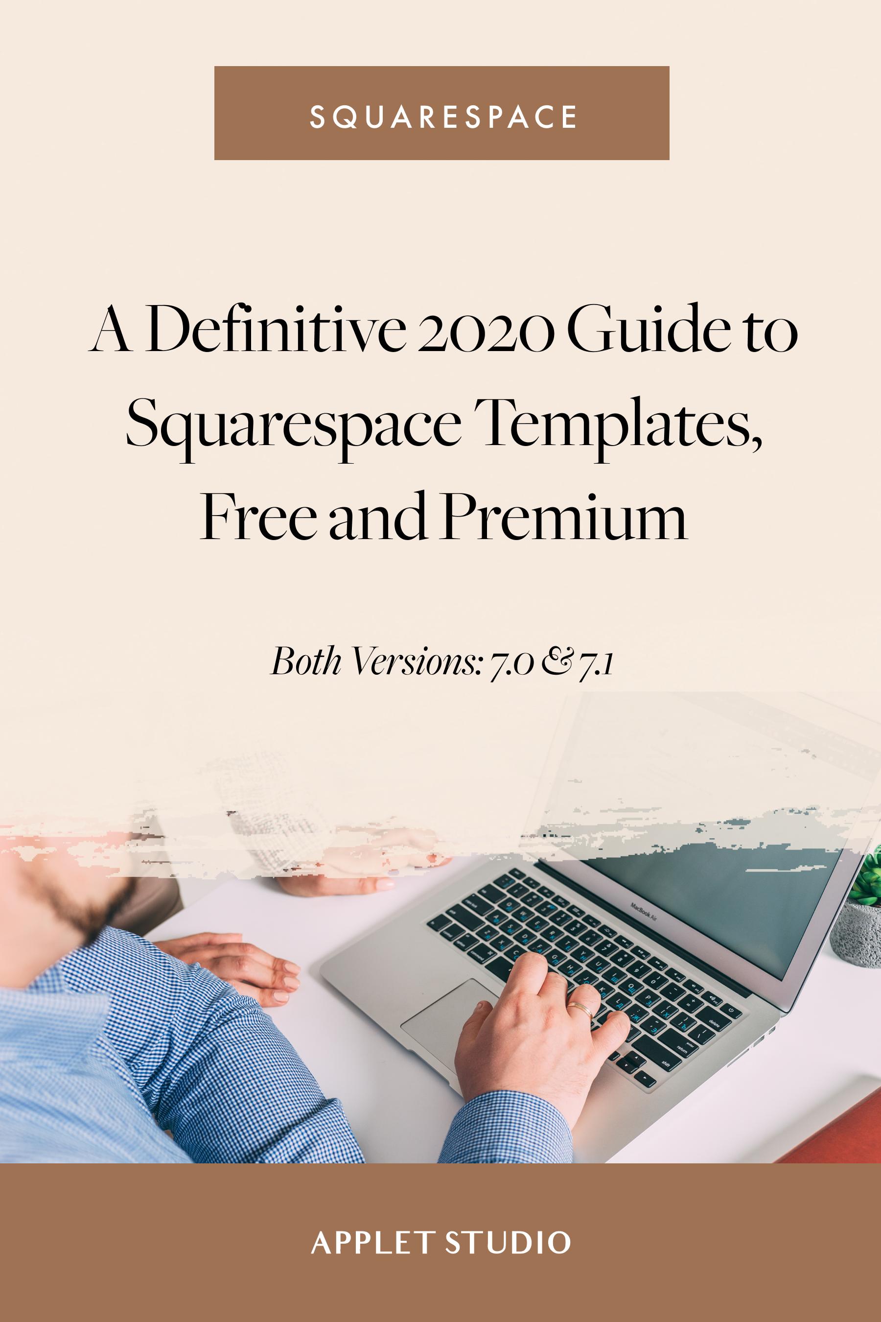 Squarespace Templates Explained Definitive 2020 Guide
