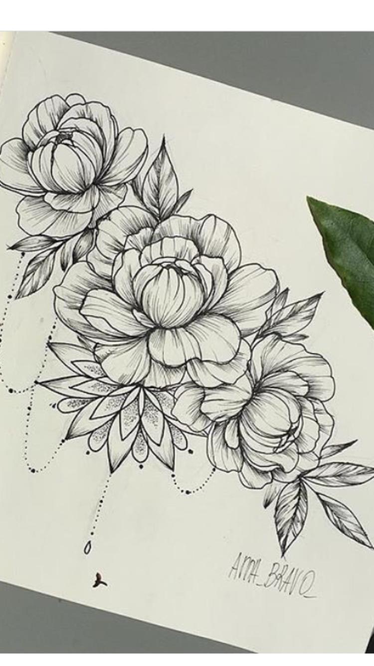 Pin de LéanaTilio en TATOO   Pinterest   Flores, Tatuajes y Ideas de ...
