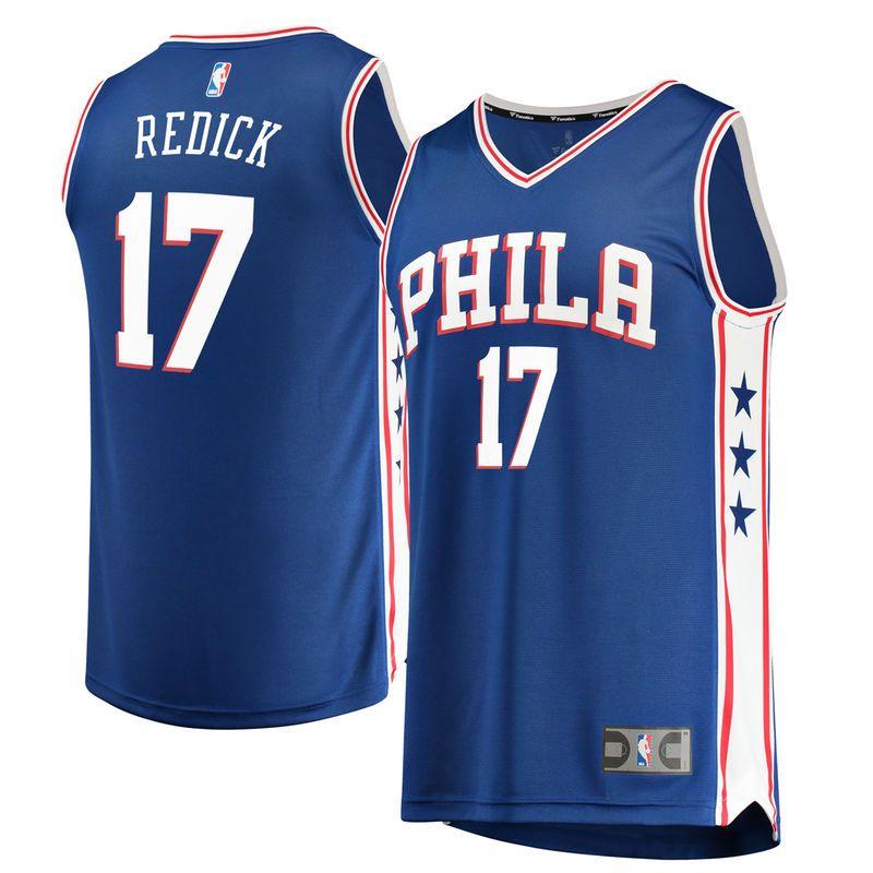 JJ Redick Philadelphia 76ers Fanatics Branded Fast Break Replica Jersey  Royal - Icon Edition bd2ab0620