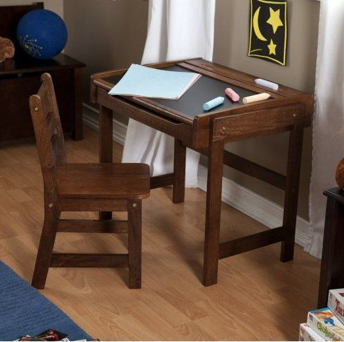 Chalkboard Desk Student Table Chair Kids Writing Desk Chair Set Home School Lipperinternational Chalkboard Desk Desk And Chair Set Childrens Desk
