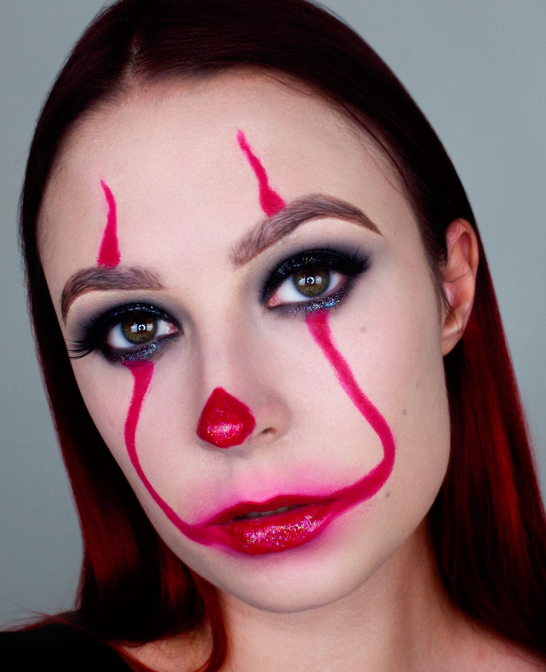 it pennywise makeup, halloween makeup, it, pennywise