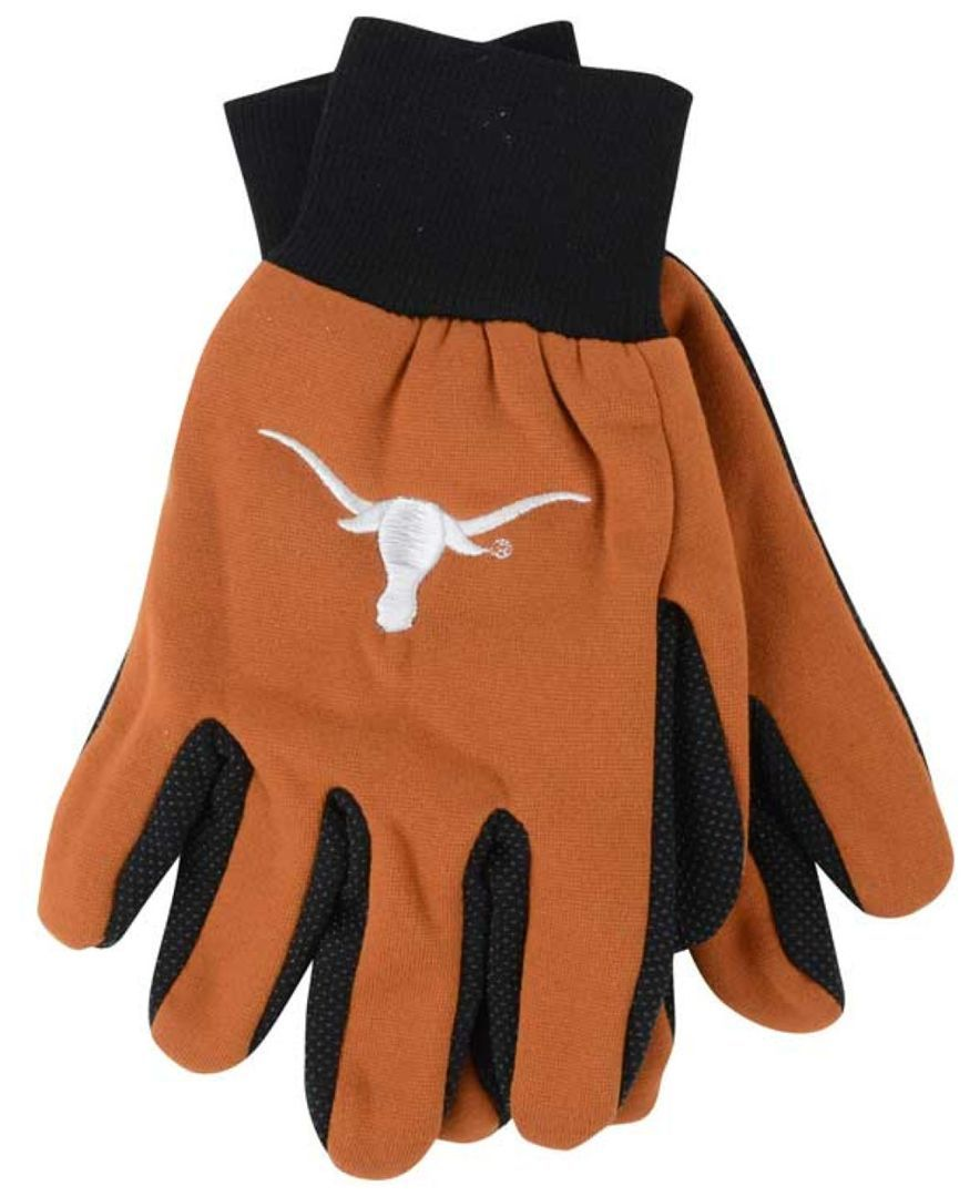 Forever Collectibles Texas Longhorns Palm Gloves