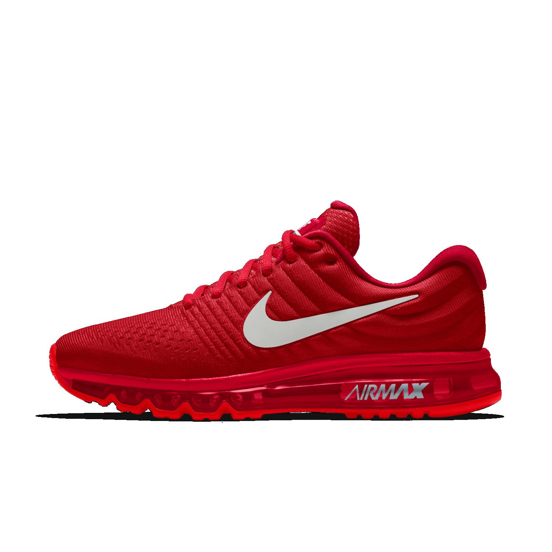Nike Air Max 2017 iD Women's Running Shoe | Red nike shoes