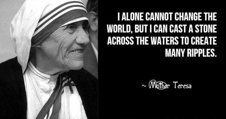 Mother Teresa Quotes On Serving Others Quotesgram Mother Teresa