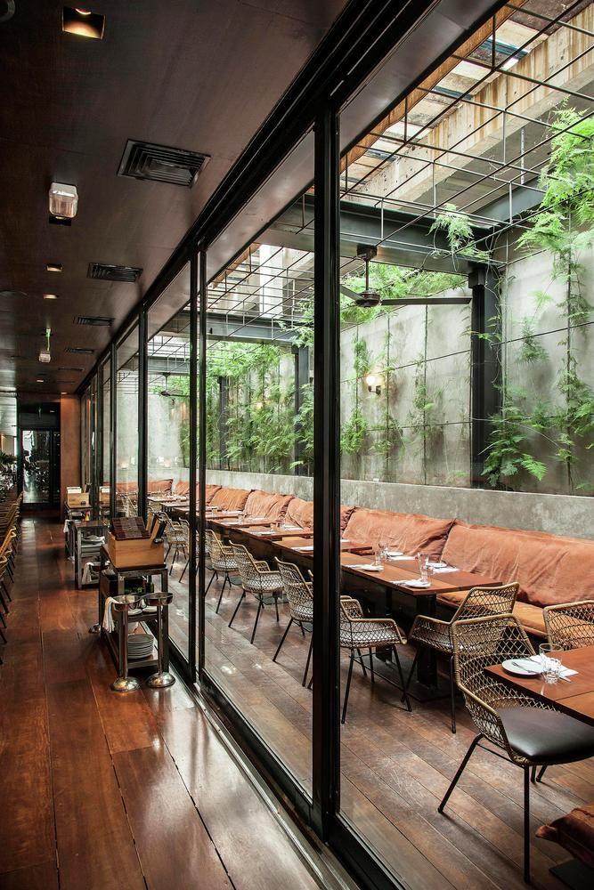 Galer a de restaurante arturito candida tabet for Exterior design of restaurant