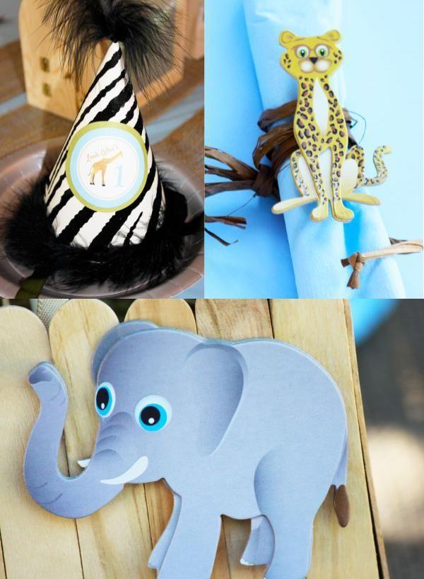 Kindergeburtstag Deko Basteln Zoo Afrikanische Tiere Ideen Partyhut |  Holidays And Events | Pinterest | Kindergeburtstag Feiern, Afrikanische  Tiere Und ...