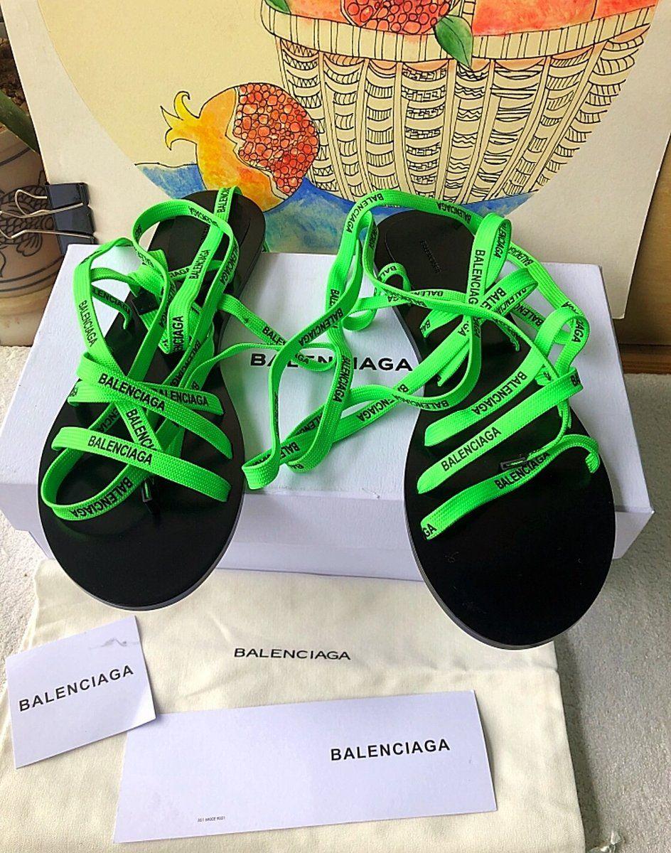 Balenciaga Inspired Lace Flat Sandals | Lace flats, Sandals