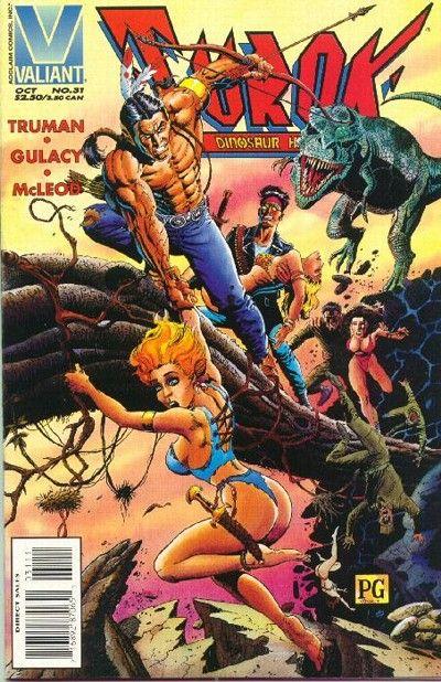 Cover for Turok, Dinosaur Hunter (Acclaim / Valiant, 1993 series) #31