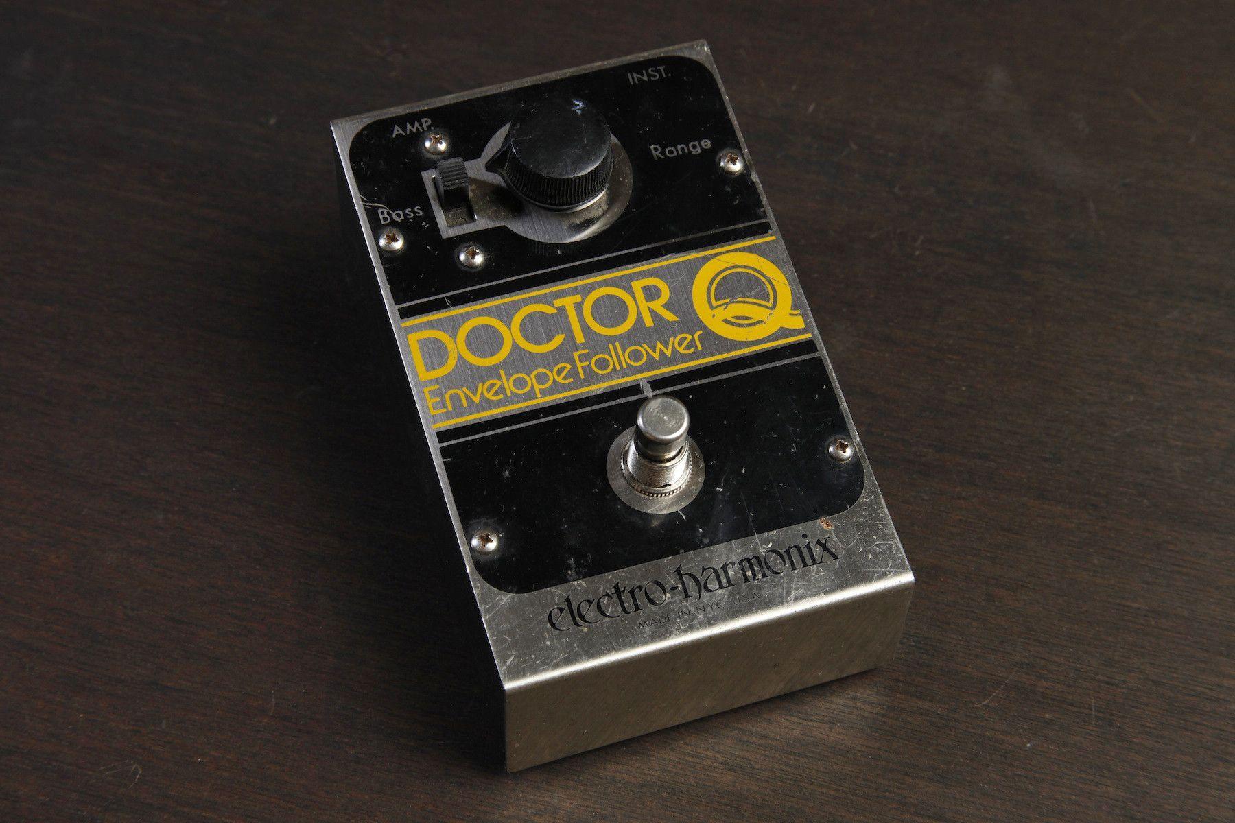 Electro Harmonix Doctor Q Envelope Filter Vintage 1978 Vintage Vintage Guitars Guitar Effects