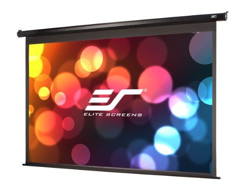 Elite Screens Spectrum 128inch 1610 4k Home Theater Electric Motorized Drop Down Projection Projector Screen Projection Screen Electric Screen Projector Screen