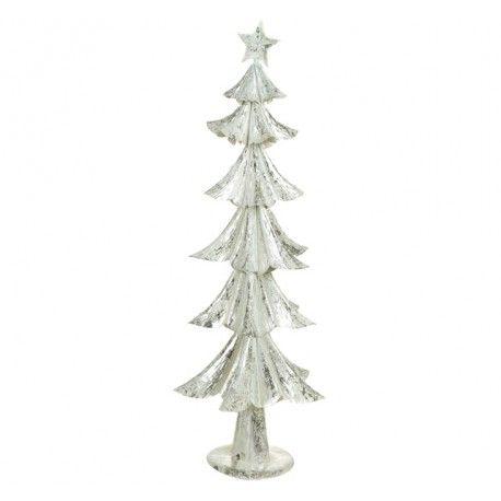 Decoraciones de navidad, Arbol de navidad realizado a mano en hierro ...