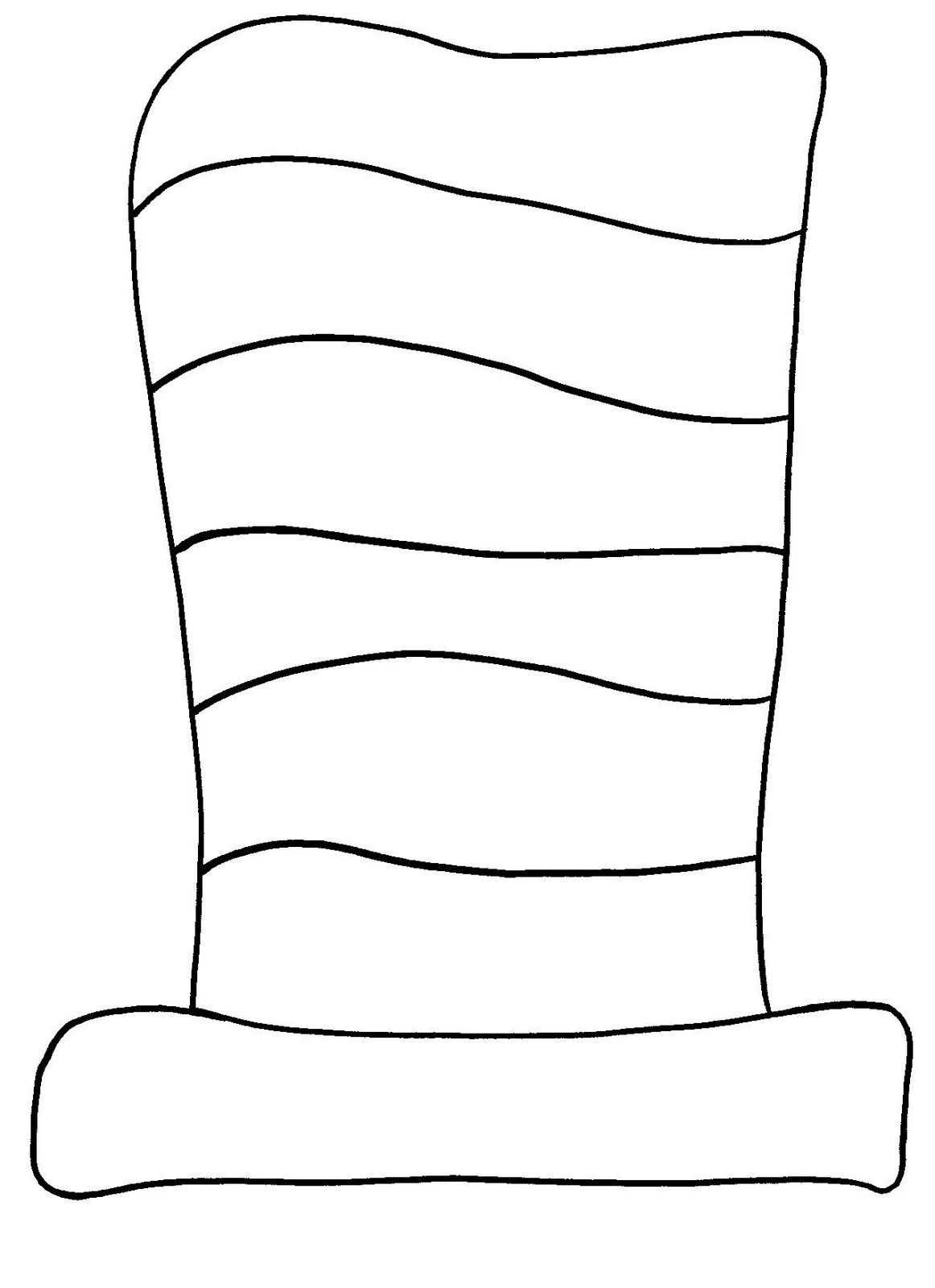 preschool cat in the hat coloring pages | Brilliant Beginnings Preschool: The Cat in the Hat Paint ...